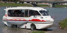 Amphibious Bus, aventura acuática en Salzburgo - http://www.absolutaustria.com/amphibious-bus-aventura-acuatica-salzburgo/