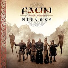 The COVER for the upcoming album MIDGARD ♥ (19.8.16) FAUN is a Medieval folk music band hailing from Germany.