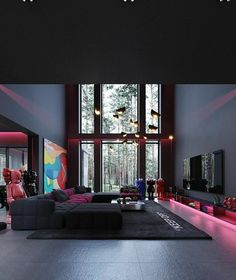 Dream House Interior, Luxury Homes Dream Houses, Dream Home Design, Luxury Interior, Gold Room Decor, Cute Bedroom Decor, Bedroom Setup, Interior Design Videos, Colorful Apartment
