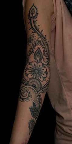 My next tattoo. So glad the Air Force changed their policy for tattoos! Vine Tattoos, Cool Forearm Tattoos, Body Art Tattoos, Sleeve Tattoos, I Tattoo, Cool Tattoos, Tribal Tattoos, Paisley Tattoos, Henna Tattoos