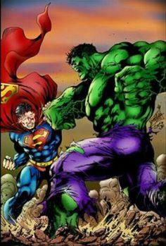 The Hulk Vs Superman