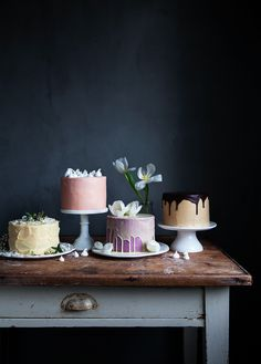Selection of Cakes | Linda Lomelino / Call Me Cupcake // Allt om Mat