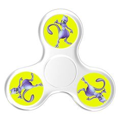 Cheap price Hand Toy Pokemon Mewtwo Smooth Stress Reducer Finger Spinner Fidget Spinner Pocket Toy For Adults And Kids on sale