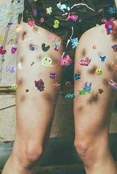 con stickers!!!
