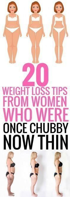 20 weight loss tips from women who were once chubby now thin | Health.com