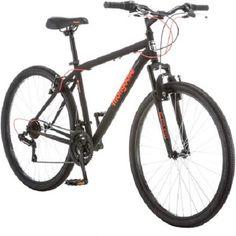275 Mongoose 21 Speeds Front Suspension Fork Excursion Mens Mountain Bike Black Color *** Click image for more details. Mountain Biking Women, Mens Mountain Bike, Mountain Bike Frames, Road Bike Women, Bicycle Women, Mongoose Mountain Bike, Bicycle Maintenance, Bike Seat, Cool Bikes