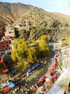 Ourika Valley near Marrakech