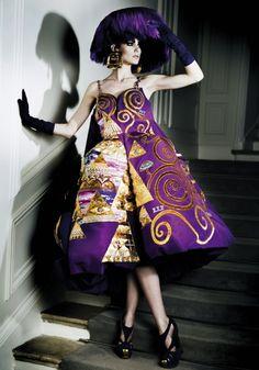 thetruthdoesnotglitterandshine: Christian Dior | Spring 2008 CoutureBy Mario Sierra