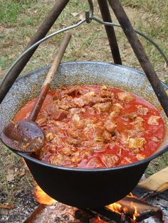 Croatian Recipes, Hungarian Recipes, Native Foods, Paella, Stew, Food And Drink, Cooking Recipes, Favorite Recipes, Meat