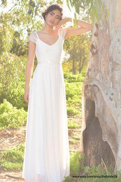 Jenny Boho-Hochzeitskleid Hochzeit Spitzenkleid von TheBride2B