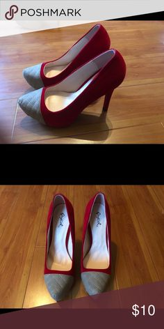 Heels Wore them once. Cleaning out closet so getting rid of a few items. Cleaning Out Closet, Rid, Peep Toe, Shoes Heels, Shop My, Best Deals, Womens Fashion, How To Wear, Style