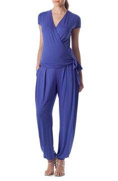 2f34a38d7f PIETRO BRUNELLI  Billie  Wrap Front Maternity Jumpsuit Maternity Fashion