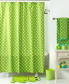 Cute For Guest/kids Bathroom. Jay Franco Bath Accessories, Froggy Shower  Curtain
