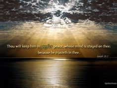 Peaceful People | God's Peace | Inspired Ministries
