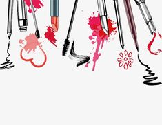 Drawing Cosmetics, Watercolor, Cosmetic, Lipstick PNG Image and Clipart