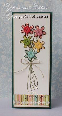 Pieced daisies