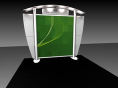 Trade Show Display Feature- EX Line- 10ft- Custom Canopy