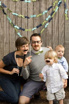 little man first birthday party bowtie and mustache bash, fun backdrop for pictures with glasses, bowties and mustaches for props