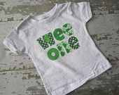 Wee One St. Patrick's Day Shirt St Pattys, St Patricks Day, Little Mac, St Patrick Day Shirts, Montessori Toddler, 1st Birthday Parties, Little Princess, Sewing Crafts