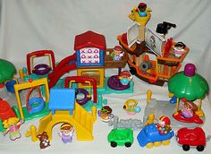 Fisher Price Little People Playground Set