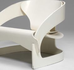 Plywood armchair (model 4801) by Joe Colombo for Kartell, 1964