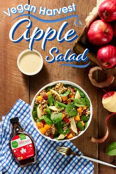 Adding some fresh deliciousness is easy. Find all the mouthwatering ingredients you need at Kroger then prepare your favorite dish in your favorite way. Apple Dressing Recipe, Harvest Salad, Cold Lunches, Dried Cherries, Summer Recipes, Healthy Snacks, Easy Meals, Dinner Recipes, Dish