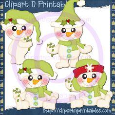 Lil Frosty Santa Green