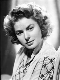 Ingrid Bergman, great, beautiful actress