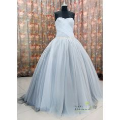 Lana/bridal dress/wedding gown/prom dress/evening... ($360) ❤ liked on Polyvore