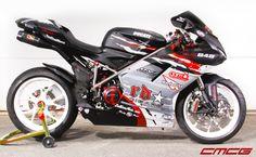 2007 Ducati 1098S. JHP track prepared and Nemesis traction