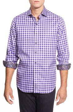 Robert Graham 'Dartmoor' Classic Fit Gingham Shirt