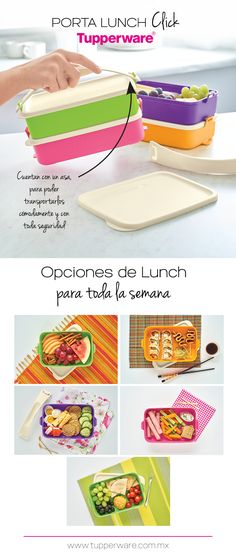 Porta Lunch Click Tupperware®