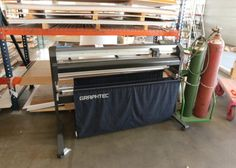 """Graphtec cutting plotter model FC8000-130 serial number 20110201 approx 72"""" wide"""