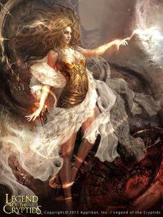 Artist: Shin Tae Sub aka sts0930 - Title: LOC - Card: Sun Goddess Amasol…