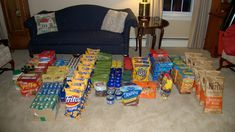 A fraction of the food purchased prior to the Alaska-Yukon Expedition