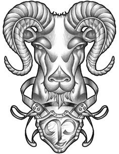Zodiac Aries Tattoo Designs Tattoos That Expressing Personality