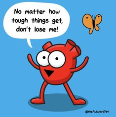 Daily Motivational Quotes, Funny Quotes, Positive Quotes, Heart And Brain Comic, The Awkward Yeti, Akward Yeti, Funny Adult Memes, Something To Remember, Christian Humor