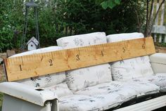 I pulled the trigger on this earlier this week. So excited for it to arrive!!  6 foot Child Wooden Ruler Growth Charts by HoosierSoapMaker, $29.99