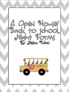 Second Grade Nest: Open House 2012 (Throwback Thursday)
