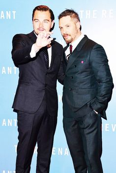 Leonardo DiCaprio and Tom Hardy | The Revenant UK Premiere | January 14, 2016 | London | original ph: Dave Benett