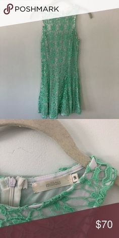 LF Mint Green Dress Really pretty Millau dress from LF. Only worn once for Easter LF Dresses