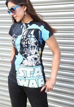 Star Wars 'Breakdown' Ladies T-shirt