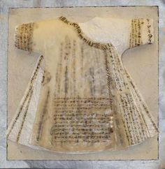 """. His robe features three layers of waxed script, as well as three pearls, indicating that the knowledge he protects is worth as much as the rarest of Nrati-Tuan pearls, if not more. "" - Master of the Codex"