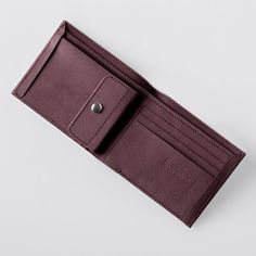Mens Wallet / Classic Washable Paper Bi-Fold Wallet with Coin Pocket in Uluru… Wallet With Coin Pocket, Purse Wallet, Vegan Wallet, Biodegradable Products, Leather Bag, Card Holder, Purses, Paper, Unique Jewelry