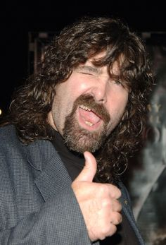 Mick Foley: the world's coolest person.