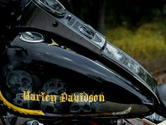 Harley Davidson, Motorcycle Paint Jobs, Hydro Dipping, Paint Photography, Harley Bikes, Custom Choppers, Bobber Chopper, Pinstriping, Writing Styles