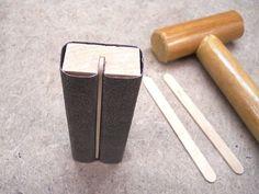 Handy Quick to Make Sanding Blocks / Pratiques blocs de ponçage rapidement réalisés