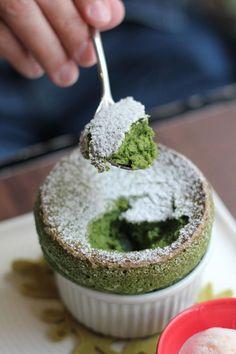 Matcha Souffle | Caldo Café, Taipei