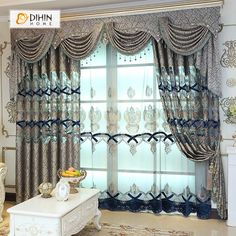 A new set of drapes gives any old room a fresh appearance. Check out home window therapy concepts to match your design as well as requirements. Our inspiring photos will leave you teaming with creativity. Tulle Curtains, Kids Curtains, Modern Curtains, Cool Curtains, Window Drapes, Grommet Curtains, Blackout Curtains, Valances, Living Room