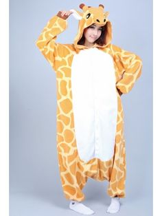 Giraffe Kigurumi Onesie | Kigurumi France - Animal Onesies Pajamas for Adult & Kids